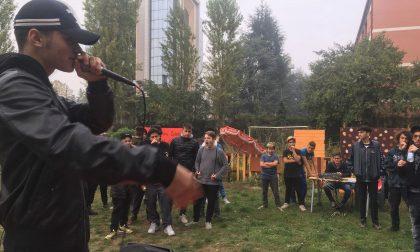 Musica Hip-Hop e live show di freestyle al Campo Comune di Cederna