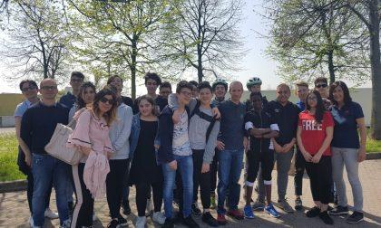 Studenti in bici, per il progetto di mobilità sostenibile