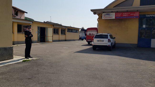 Rubate cinque auto alla carozzeria Cazzaniga