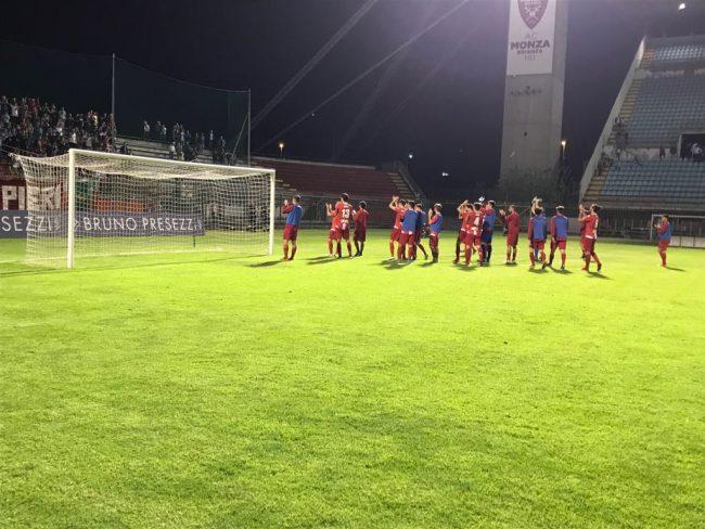 Calcio Serie C Monza-Giana 1-1. A Bruno risponde Cori, il pareggio è di rigore