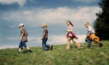 Bambini tutti in marcia con il Girarigola