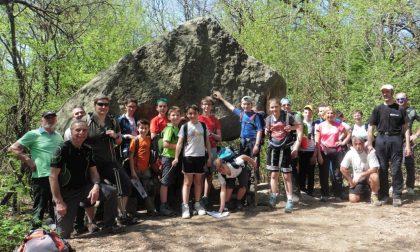 Gita  dei ragazzi del corso di alpinismo giovanile del Cai Paina