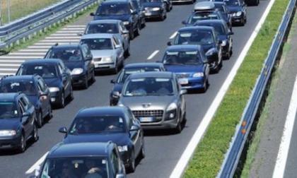 Traffico intenso sulla A4 in direzione Milano