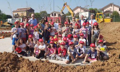Bambini protagonisti a Correzzana per la nascita di Un Bosco per la Città