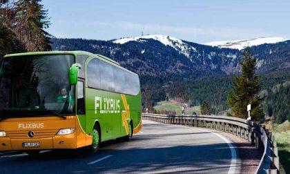 Tratte FlixBus: i pullman partiranno anche da Monza