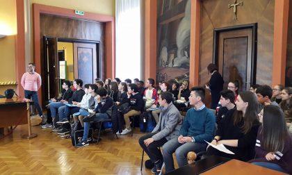 Studenti francesi in visita al Fondo Camperio