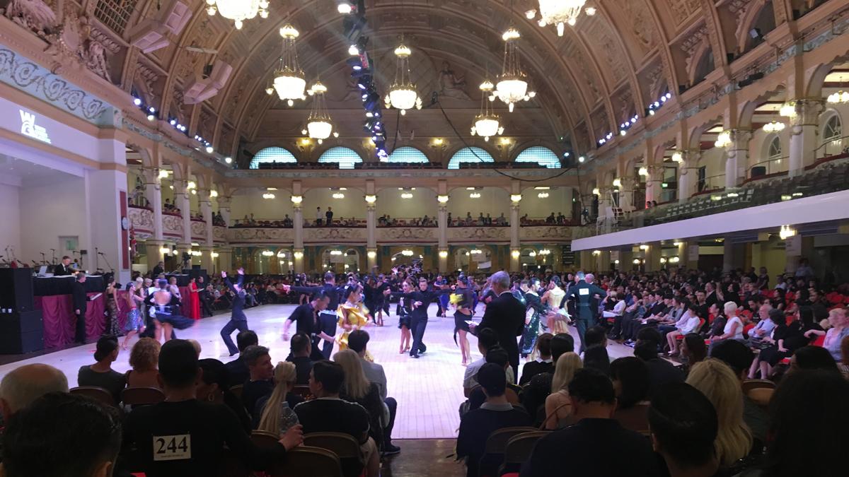 Campioni europei di ballo in Inghilterra i brianzoli Luca e Sonia