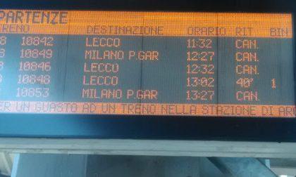 Forti temporali: traffico in tilt sulla Lecco-Molteno-Monza-Milano