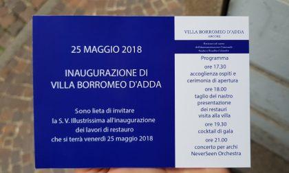 Inviti falsi per Villa Borromeo, la replica del sindaco