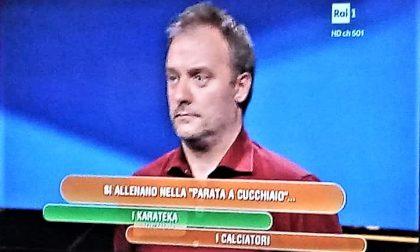 Il monzese Marco Visconti concorrente di Carlo Conti