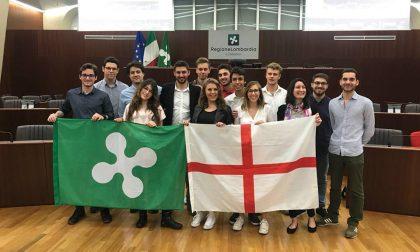 Festa della Lombardia, i giovani della Brianza al Pirellone