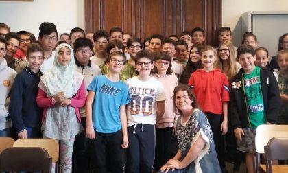 Lezione di giornalismo alla scuola Traversi