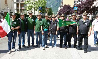 Alpini di Macherio all'adunata nazionale a Trento
