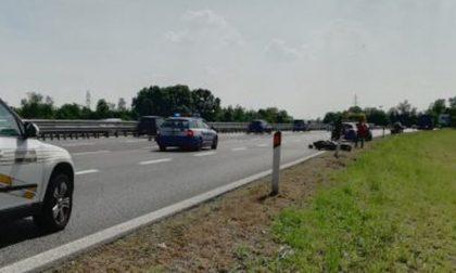 E' morto il motociclista 27enne dell'incidente in Tangenziale Est