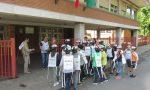 Settimana di bicibus per gli studenti della scuola media di Giussano