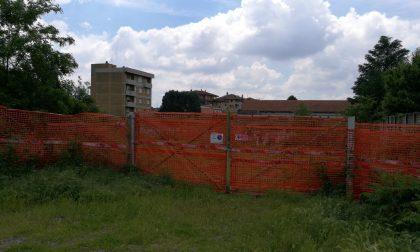 Cantiere abbandonato da dieci anni tra folta vegetazione e degrado