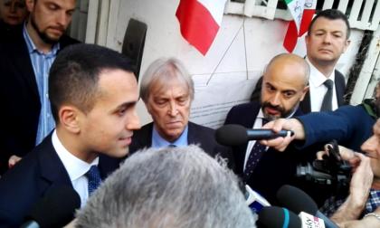 Di Maio a Monza per Bramini fa una promessa VIDEO