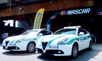 "Polizia locale ""guest star"" ai Nascar"