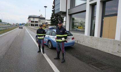 Tamponamento tra tre auto in Valassina