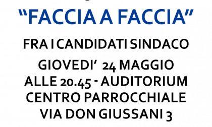 Elezioni Nova Milanese 2018 giovedì 24 maggio FACCIA A FACCIA