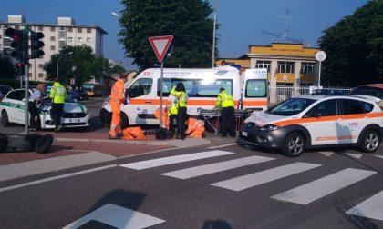 Grave incidente in via Po: 23enne in ospedale