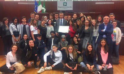 Consiglieri per un giorno: a Palazzo Pirelli gli studenti dell'istituto Milani di Meda