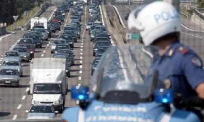 Traffico bloccato in A4 dopo l'uscita di Cavenago
