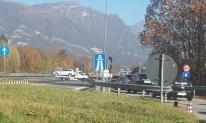 Statale 36 code e rallentamenti in direzione Milano