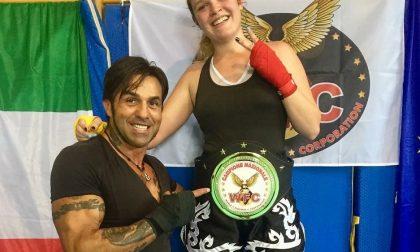 Martina 17enne trezzese campionessa italiana di kick boxing