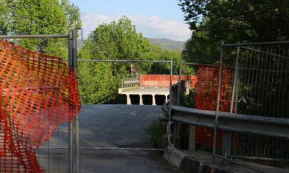 Iniziati i lavori al Ponte di Annone: chiusure in Valassina