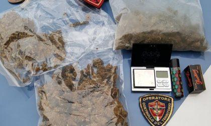 Polizia arresta 15enne: nello zaino un etto e mezzo di marijuana