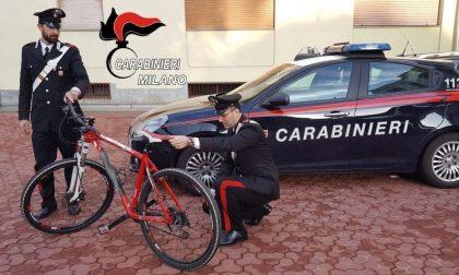 Ladro di bicicletta finisce in manette