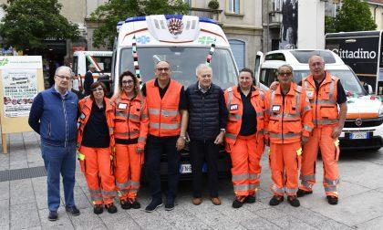 Croce Verde in festa per l'ambulanza in memoria di Luigi Sala - GALLERY