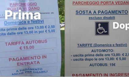 Parco, il Comune si ricorda dei disabili