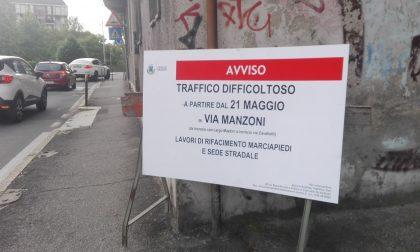 Via Manzoni, pronta a voltare pagina...