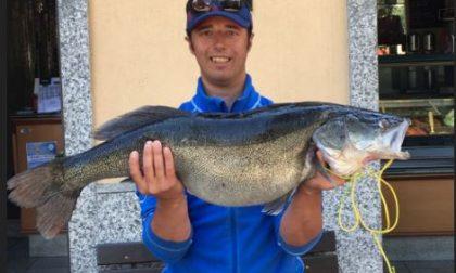 Pesca un luccio di oltre 8 chili