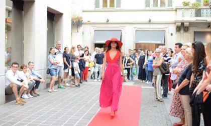 Rebecca Staffelli sfila in centro per omaggiare Pupi Avati LE FOTO