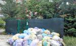 """Una montagna di rifiuti a San Giorgio, """"situazione insostenibile"""""""