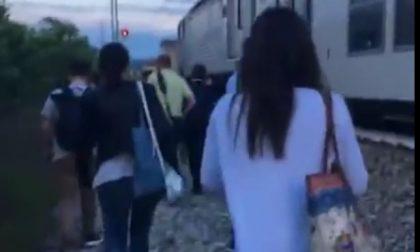 Treno fermo: incredibile ora Trenord se la prende con i passeggeri
