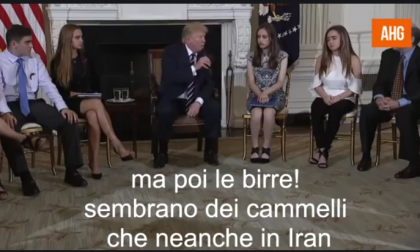 "Trump ""dichiara guerra"" al Toga Party dei rugbisti – IL VIDEO PARODIA"