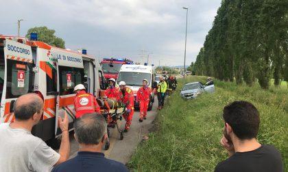 Grave incidente ad Albiate, tre feriti