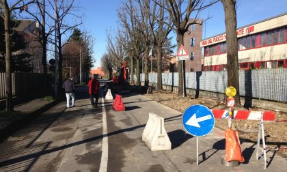 A Vimercate mezzo milione di euro per strade e marciapiedi