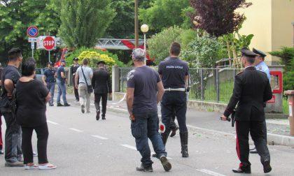 Sfrattato dall'Aler con un'azione di forza, intervenuti venti carabinieri