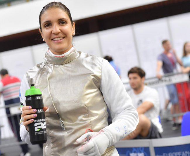 Arianna Errigo sul podio d&#8217&#x3B;Europa