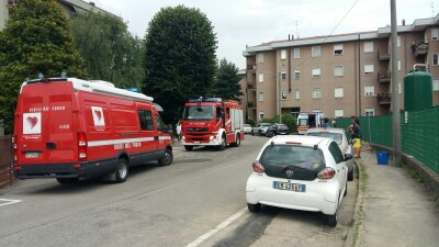 Incendio a Triuggio il racconto del vicino che ha salvato i fratellini LE FOTO