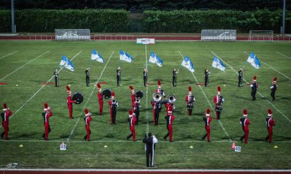 La Triuggio Marching Band allo show di Como