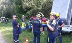 Protezione civile di Giussano, weekend di esercitazioni