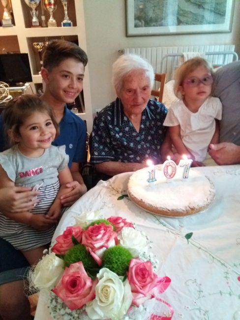 A Valle Guidino c'è una nonna da record