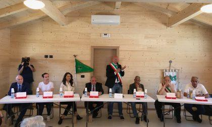 Gruppo volontari della Brianza: inaugurazione a Montereale del centro di aggregazione