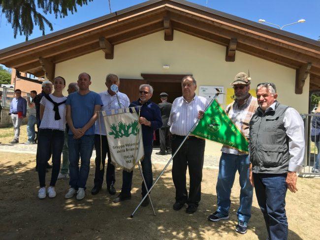 Gruppo volontari della Brianza: inaugurazione a Montereale, del centro di aggregazione